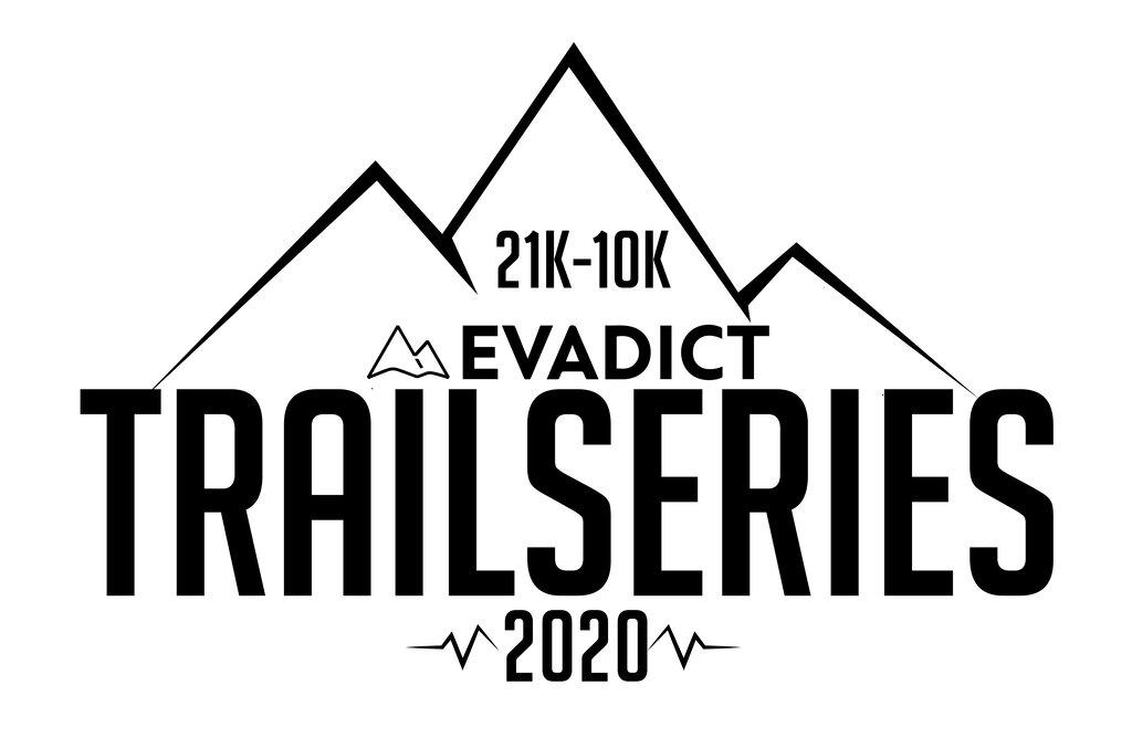 Logotipo circuito de trail running evadict trailseries