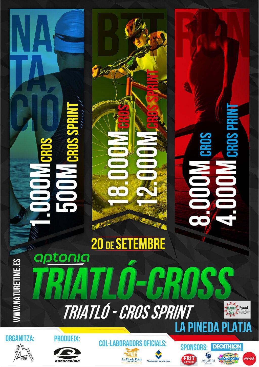 poster-triatlo-cros-la-pineda-platja-2020