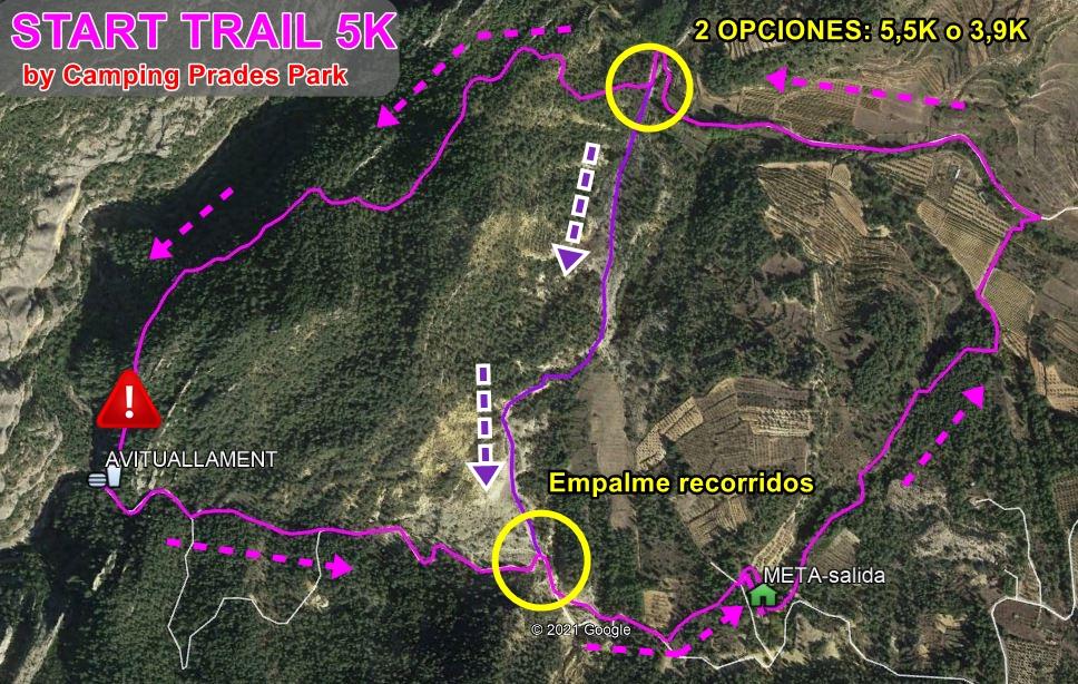 start trail trail ermites