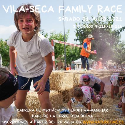 poster vila-seca family race 2021
