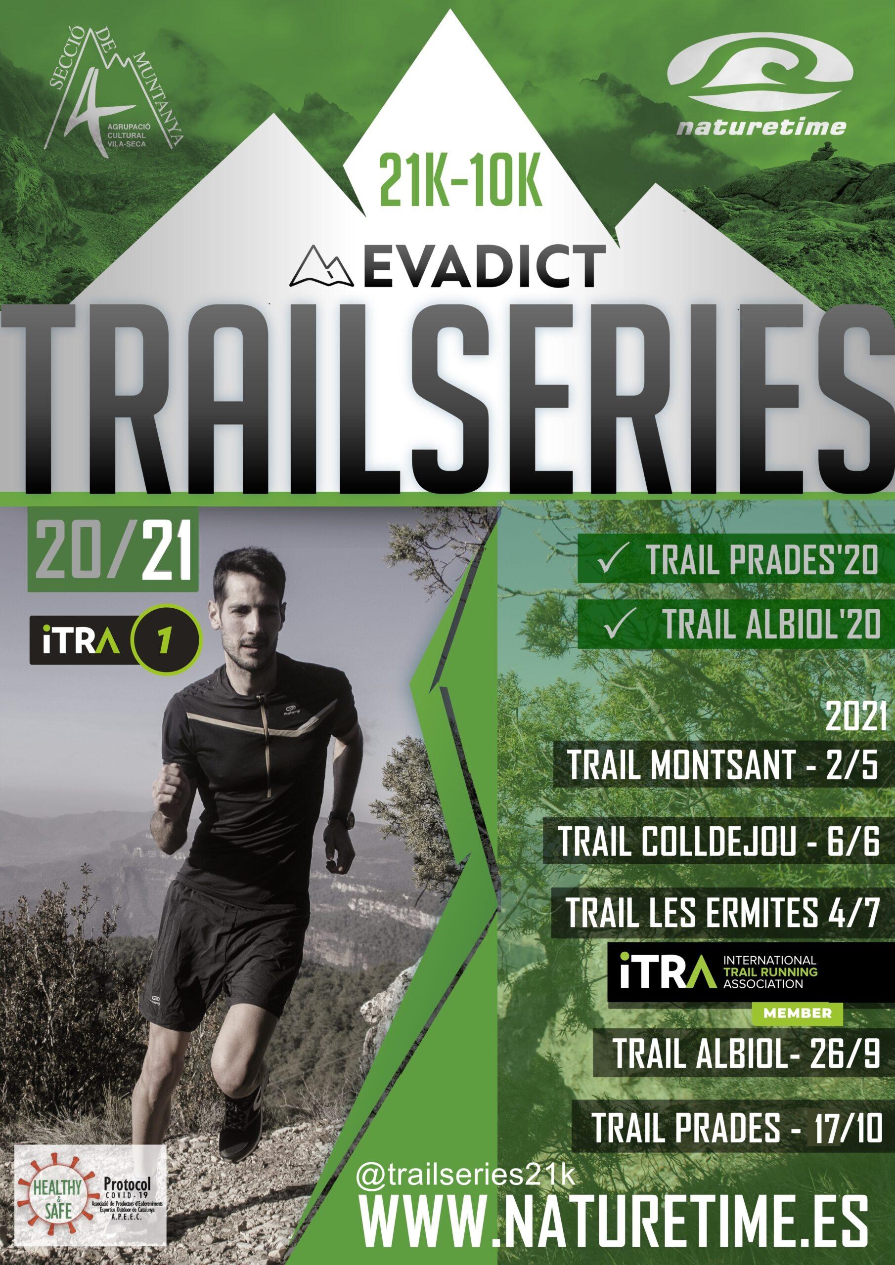 Poster evadict trailseries 2021