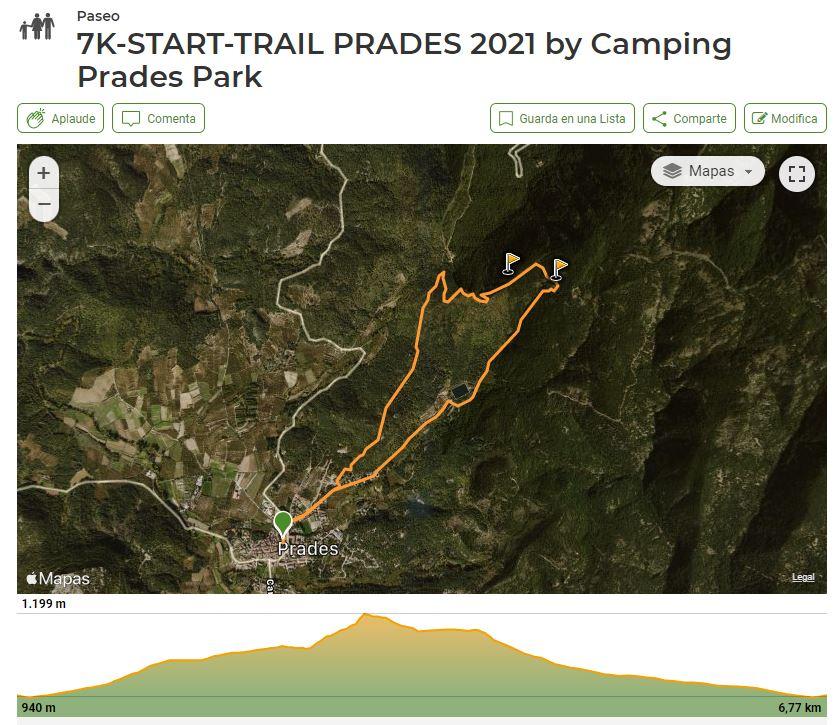 perfil startr trail 6k prades